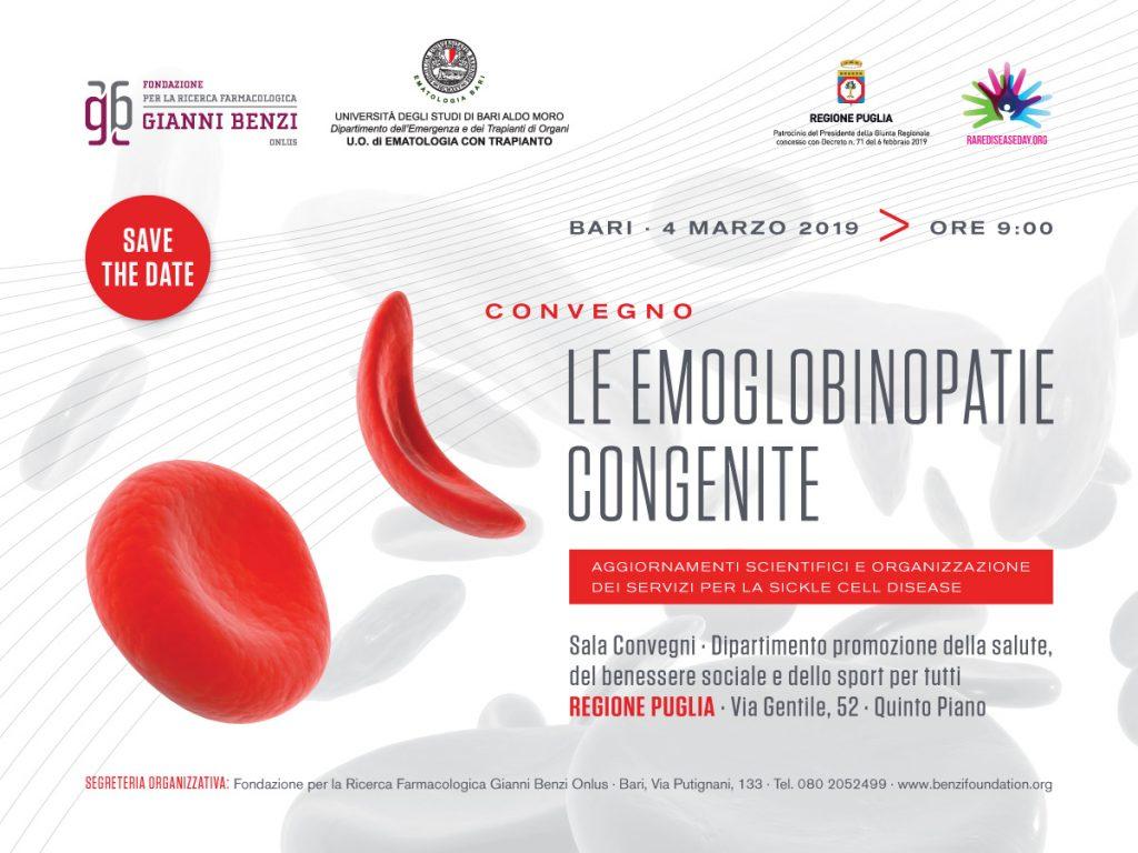 Le Emoglobinopatie congenite aggiornamenti scientifici e organizzazione dei servizi per la sickle cell disease